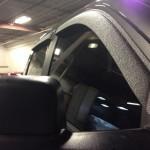 Bedlined Truck Window Rainguards