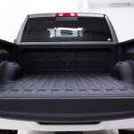 Truck Bed Sprayed With Bedliner - Backview