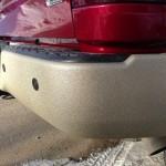 Back bumper with spray on bedliner coating Edmonton